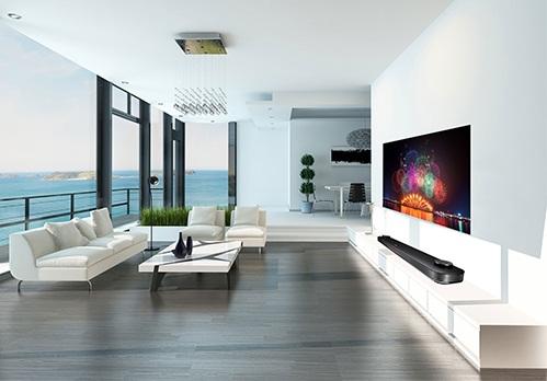 Chiếc TV OLED W7 đã vượt qua mọi chuẩn mực về công nghệ cũng như thiết kế khi chỉ có độ mỏng là 2.57mm