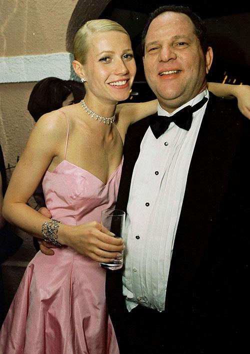 Gwyneth Paltrow đã bị ông chủ hãng phim yêu cầu massage trong phòng khách sạn vào đầu những năm 1990 nhưng cô đã quyết liệt từ chối.