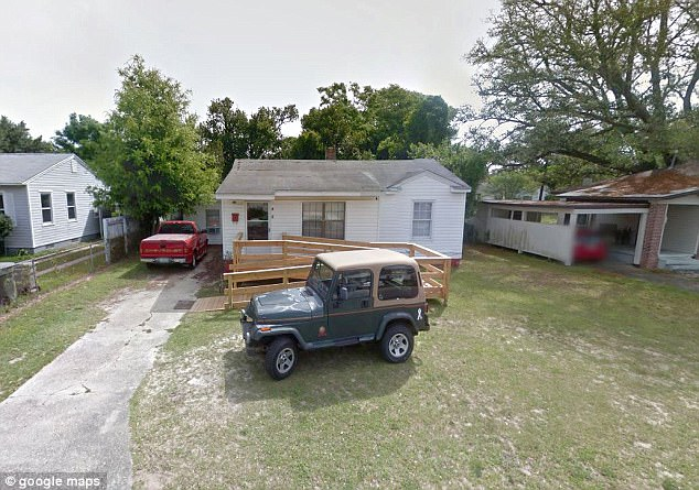 Ngôi nhà nơi xảy ra vụ bạo hành trẻ em ở Florida. (Ảnh: Dailymail)