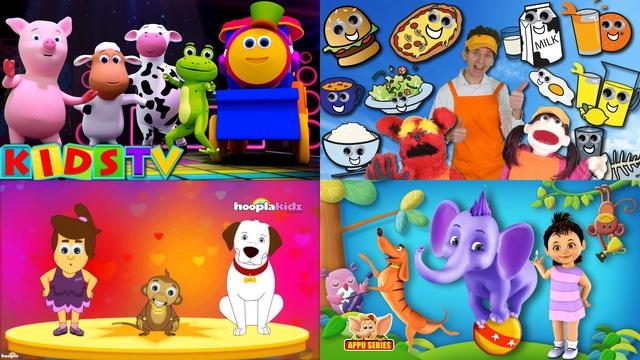 Các kênh học tiếng Anh cho bé rất hấp dẫn bởi nội dung phong phú và hình ảnh tươi sáng, màu sắc bắt mắt