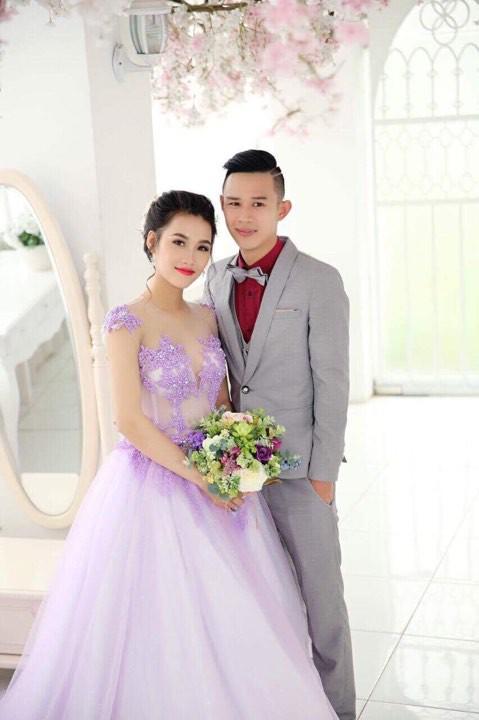 Ảnh cưới của vợ chồng Lan Anh