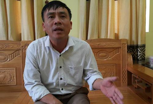 Ông Nguyễn Đình Thanh. Ảnh: Anh Thư.