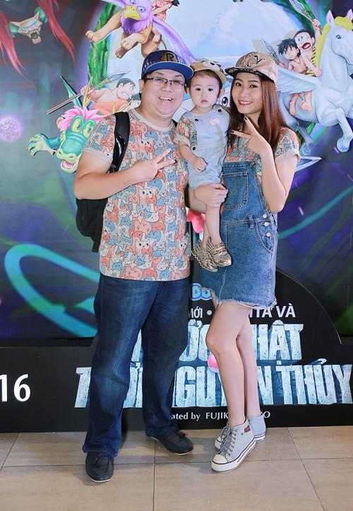 Sau ly hôn, Gia Bảo - Thanh Hiền cố gắng giữ quan hệ tốt đẹp để cùng chăm sóc con gái.