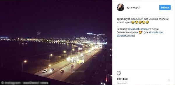 Bứ ảnh do Vlada đăng lên tiết lộ mối quan hệ của cô gái này với chồng của Yulia.