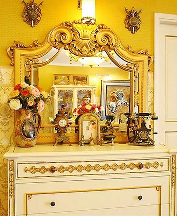 Hầu hết các tủ kệ này đều mang phong cách cổ điển.