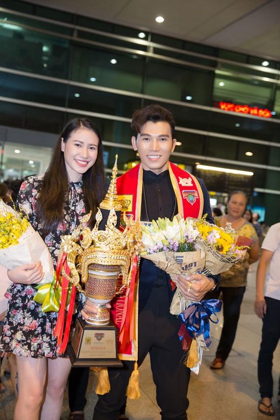 Ca sĩ Như Hà mong rằng, sự nghiệp của Ngọc Tình sẽ ngày càng phát triển sau danh hiệu Manhunt 2017.