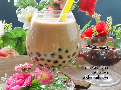 Chỉ qua vài bước vô cùng đơn giản bạn đã có ngay 1 ly trà sữa trân châu ngọt ngào thơm ngon.