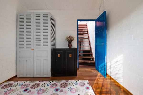 Nội thất của ngôi nhà mang nét hoài cổ về một Sài Gòn xưa cũ.