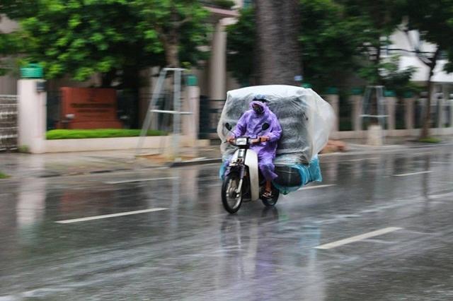 Sáng nay, người dân Hà Nội đã cảm nhận được cái lạnh thật sự.