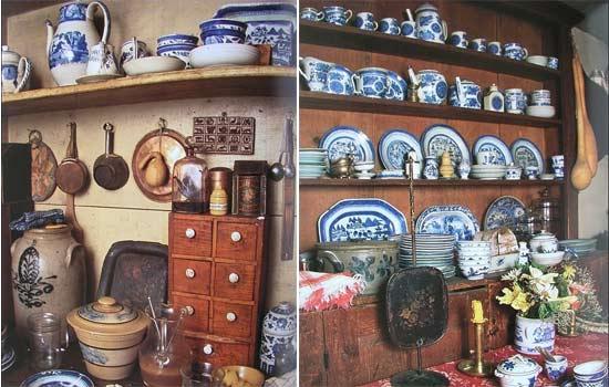 Nội thất và đồ dùng bên trong căn nhà cũng được bà Tasha tỉ mỉ lựa chọn và trang trí theo phong cách đồng quê cổ kính, nhẹ nhàng.