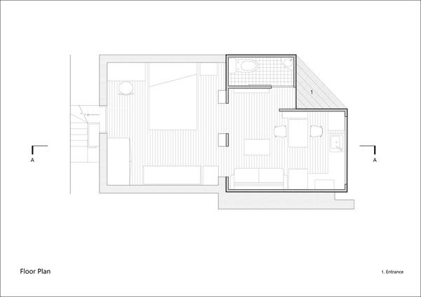 Sơ đồ thiết kế của ngôi nhà.