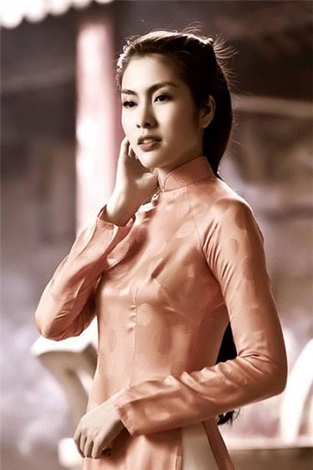 Nét đẹp và duyên dáng của Tăng Thanh Hà thời mới vào nghề.