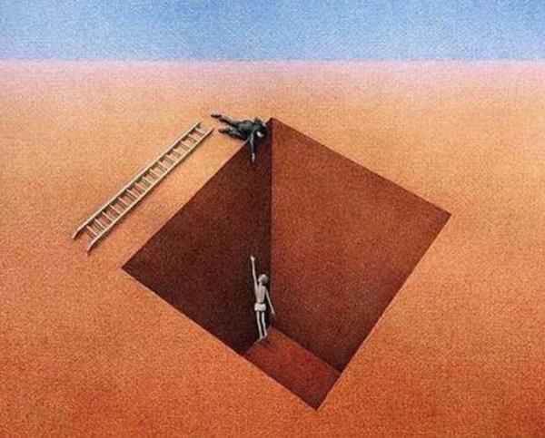 Người đưa tay về phía bạn không hẳn là người thật lòng muốn giúp bạn. (Ảnh: Internet)