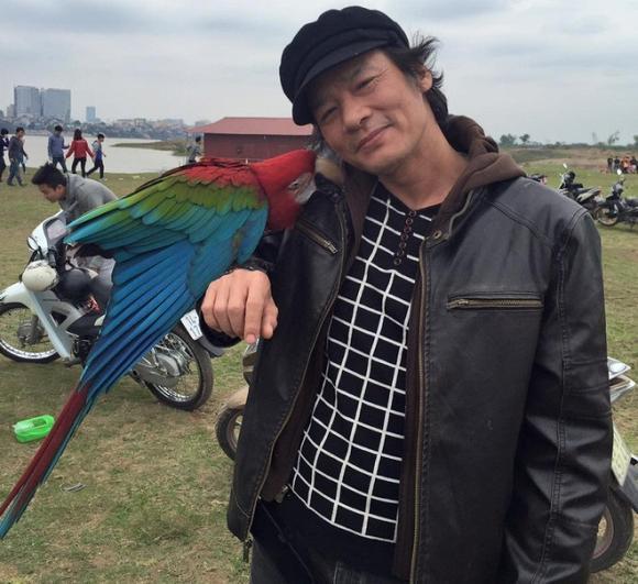 Ảnh đời thường của diễn viên Võ Hoài Nam.