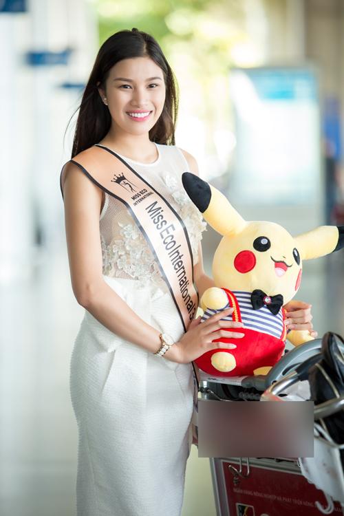 Nguyễn Thị Thành từng mất ngôi Á khôi Du lịch vì sửa răng. Do đó, cô không được Cục Nghệ thuật biểu diễn cấp phép đại diện Việt Nam thi nhan sắc quốc tế. Cô đi thi Miss Eco với tư cách thí sinh tự do.