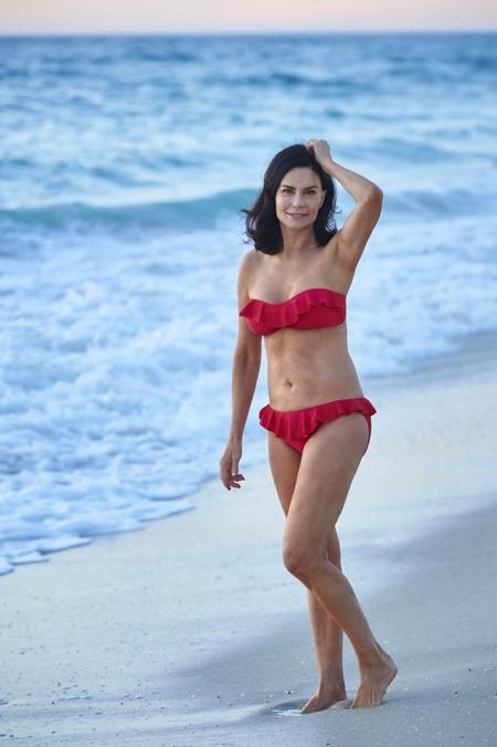 Cơ thể của Carolyn khiến nhiều phụ nữ trẻ hơn ngưỡng mộ.