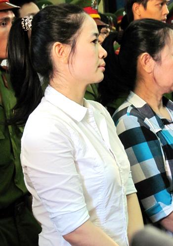 Cầm đầu đường dây, Thu Thảo nhận bản án tử hình hai năm trước. Ảnh: H. D.
