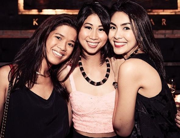 Hai chị em thường xuyên khoe ảnh của nhau trên trang cá nhân.