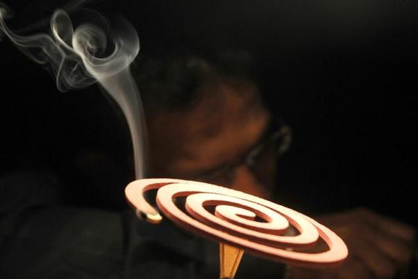 Nhang muỗi có hình xoắn ốc giúp tăng chiều dài nhang và kéo dài thời gian cháy.