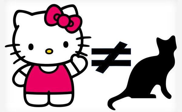 Nhân vật Hello Kitty thật ra không phải là cô mèo đáng yêu nào cả.