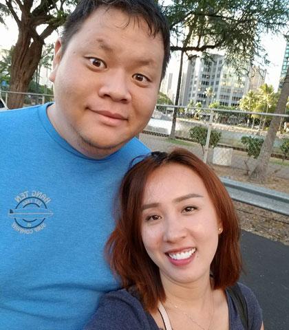 Quỳnh Anh đang cùng chồng tận hưởng cuộc sống hôn nhân ngọt ngào trên đất Mỹ.