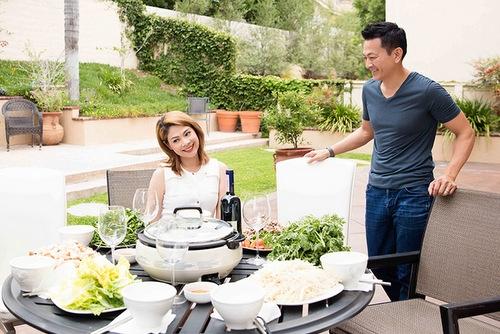 Cuộc sống bình yên của Thanh Thảo bên bạn trai ở Mỹ.