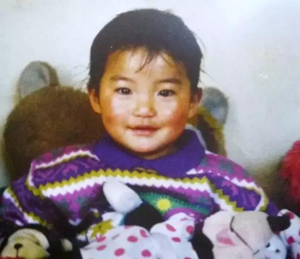 Hoàng hậu Bhutan khi còn nhỏ.