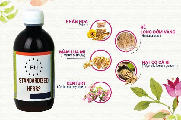 Thảo dược chuẩn hóa châu Âu là lựa chọn mới cho trẻ biếng ăn Việt Nam