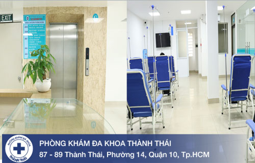 Phòng khám, phòng chờ sạch sẽ, yên tĩnh tạo sự thoải mái cho nam giới