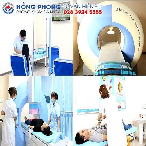 Bệnh nhân điều trị tại Phòng Khám