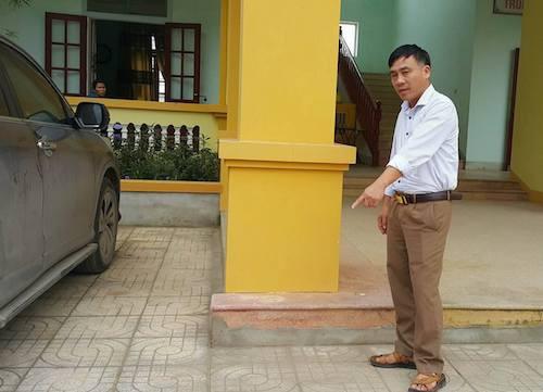 Ông Thanh thuật lại diễn biến xảy ra chiều 9/11. Ảnh: Nguyễn Hải.