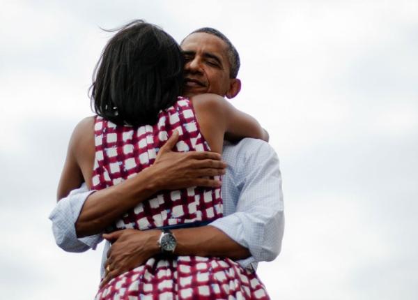 Hai ông bà tại một sự kiện ở Dubuque, Iowa, năm 2012.