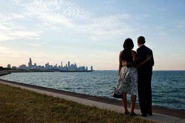 Cùng ngắm chân trời ở Chicago.