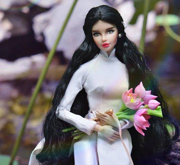 Một trong những tác phẩm của Sang từng đoạt giải trong cuộc thi Miss Doll Việt Nam