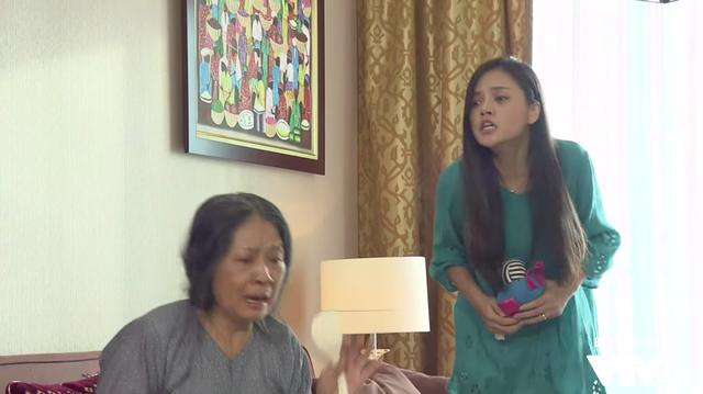 Sống chung với mẹ chồng - Tập 29: Trang (Thu Quỳnh) phát điên khi con gái bị bắt cóc - Ảnh 4.