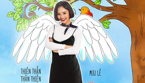 Miu Lê tái xuất với vai diễn dễ thương.
