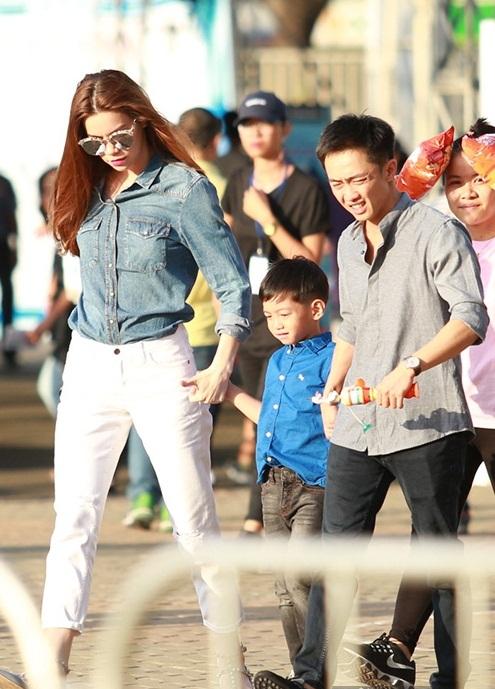 Dù đã đường ai nấy đi, Hà Hồ và Cường Đô la vẫn coi nhau là tri kỷ.