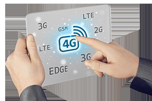 Truy cập Internet bằng 3G/4G có thể là giải pháp thay thế tạm thời khi cáp quang không ổn định.