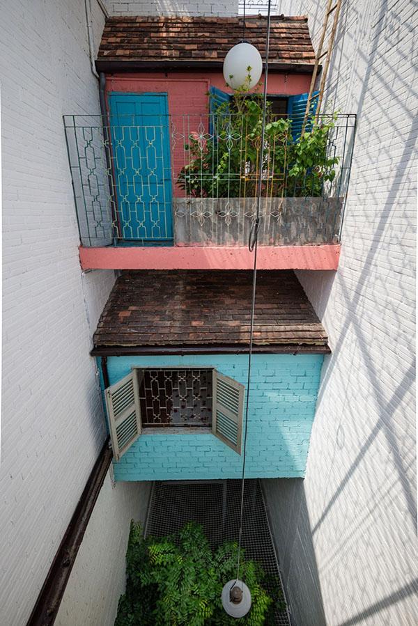 Đây cũng chính là điểm nhấn nổi bật giúp căn nhà tỏa sáng trên tạp chí kiến trúc hàng đầu thế giới ArchDaily.