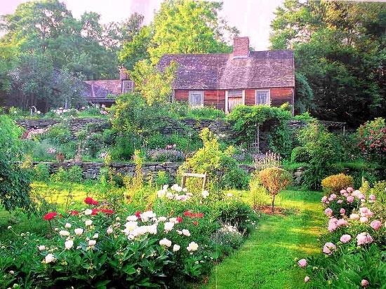 Nói về khu vườn thần tiên của mình, bà Tasha Tudor từng cho biết: Trong cuộc đời, tôi chưa bao giờ có ý nghĩ thiết kế nên một khu vườn. Chúng chỉ phát triển theo lẽ tự nhiên.