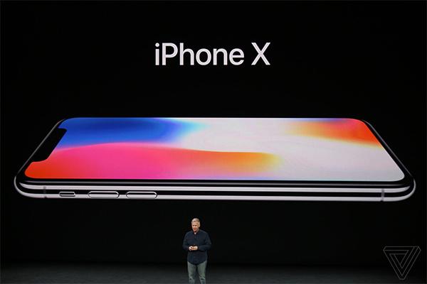 iPhone X là nhân vật chính của buổi lễ ra mắt.