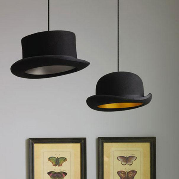 Một phong cách đèn khác cho người yêu thích những chiếc mũ!