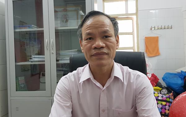 BS Dương Văn Tâm. Ảnh: T.Hạnh