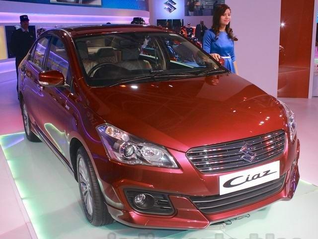 Suzuki Ciaz S ra mắt tại thị trường Ấn Độ