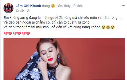 Cảm xúc của Lâm Chí Khanh.