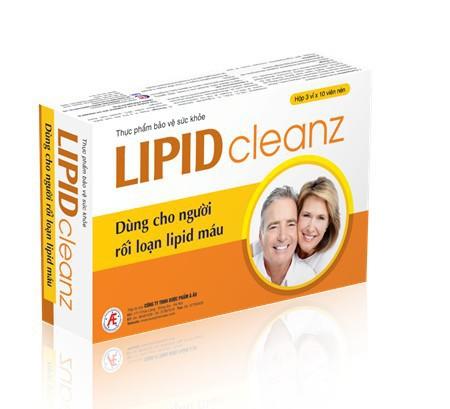 Lipidcleanz giúp hỗ trợ điều trị rối loạn lipid máu an toàn, hiệu quả