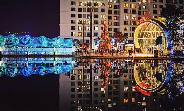 """Đón Giáng sinh cùng Thiên thần và nàng Tiên cá tại """"Vũ hội đại dương"""" ở Vincom Mega Mall Times City"""