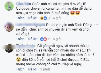 Khi có người nhận định Giáo sư Cù Trọng Xoay (Đinh Tiến Dũng) thích hợp với vị trí MC Ai là triệu phú, Phan Anh bấm like ủng hộ.