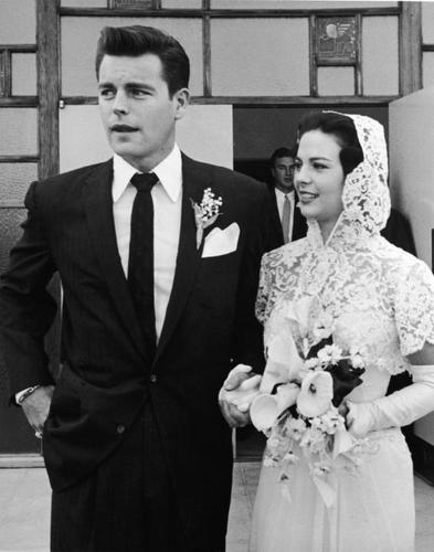 Cô dâu Natalie ở tuổi 19.