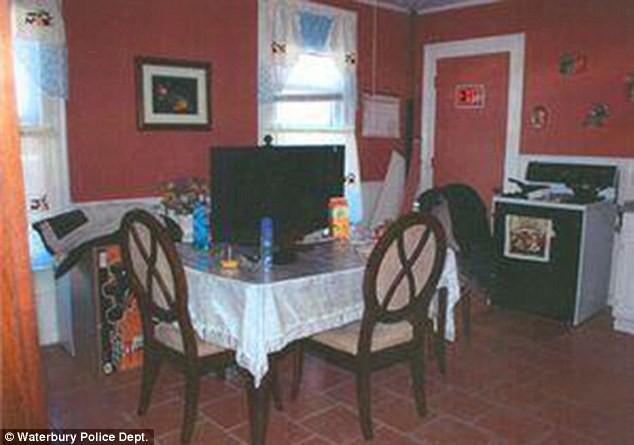 Căn bếp nơi bà Diane bị bắn chết (Ảnh: Internet)